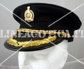 INDIAN OFFICERS PEAKED HAT ORIGINAL AS NEW