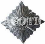 WH / SS SILVER STAR FOR COLLAR PATCH REPRO