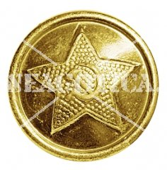 USSR BUTTON EM GOLD 22 MM ORIGINAL