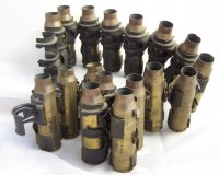 17 VULCAN CAL 20MM SHELLS INERT ON BELT ORIGINAL