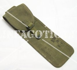 US CLEANING ROD CASE 4 POCKETS C6573A OLIVE WW2 ORIGINAL