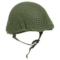 US HELMET NET VERDE 1 CM AS NEW