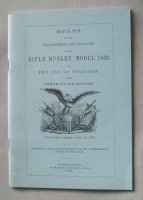 MANUALE MANAGEMENT AND CLEANING OF THE RIFLE MUSKET M.1863