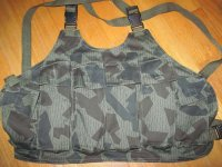 BULGARIA GILET TATTICO CHEST RIG CAMO ORIGINALE NUOVO