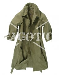FRENCH CAVALRY RAINCOAT OLIVE ORiGINAL AS NEW