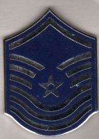 US AIR FORCE COLLAR TABS (UNA SOLA) E-7 MASTER SERGEANT
