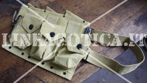 US PISTOL BELT BAR KHAKI (REPRO)