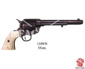 REVOLVER COLT 45 CIVIL WAR 1860 DARK INERT REPLICA