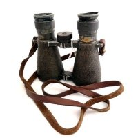 CARL ZEIS MOD.08 WW1 BINOCULARS ORIGINAL USED