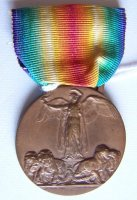 ITALIAN ALLIED VICTORY MEDAL ORIGINAL