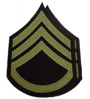 US PAIR M43 RANKS STAFF SERGEANT