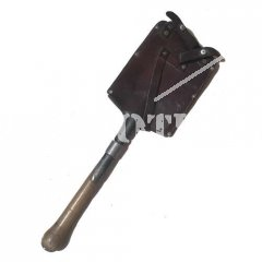 SWISS SHOVEL WITH POUCH LEATHER AS NEW