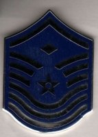 US AIR FORCE COLLAR TABS (UNA SOLA) E-7 FIRST MASTER SERGEANT