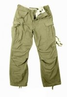 US FIELD PANTS M65 COTTON OLIVE VINTAGE REPRO