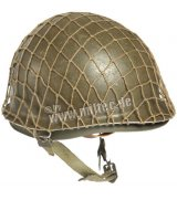 US HELMET NET MEDIUM WWII WITH LITTLE RIPS REPRO