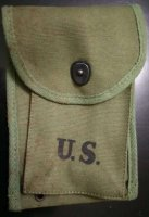 US MAGAZINE POUCH 30M1 CARBINE 30 ROUNDS OLIVE REPRO