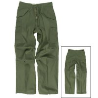 US FIELD PANTS M65 MISTO COTTON OLIVE