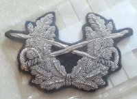 BW ARMY CAP EMBROIDERED BADGE