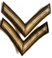 BRITISH LANCE CORPORAL RANK (PAIR) REPRO