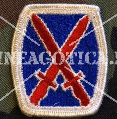 US 10TH MOUNTAIN DIVISION PATCH ORIGINAL