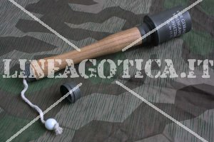 WH BOMBA A MANO INERTE SHG24 LEGNO AND METAL REPLICA