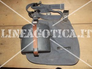 LW MESS KIT + STRAP + BROTBEUTEL + SHOULDER STRAP POSTWAR ORIGIN