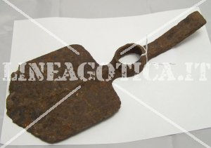 BRITISH ENTRENCHING TOOL BLADE ONLY RELIC ORIGINAL
