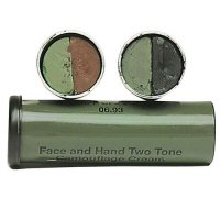 BRITISH CAMO FACE PAINT BROWN-OLIVE