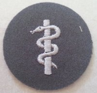 BW MEDICAL CORPS PATCH