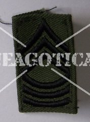 US RANK MASTER SERGEANT SUBDUED ORIGINAL