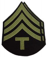 US PAIR M43 RANKS TECHNICIAN 4TH GRADE