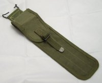 US CLEANING ROD CASE 3 POCKETS C6573 OLIVE WW2 ORIGINAL