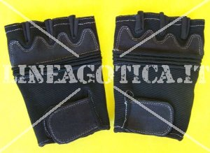 GLOVES MAD MAX FINGERLESS ELASTICIZZATI BLACK