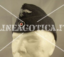 LW GARRISON CAP WITH EAGLE AND COCKADE (REPRO)
