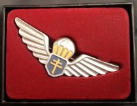 FRENCH FREE FRANCE PARATROOPER BADGE WW2 REPRO