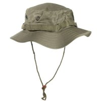 US OLIVE BOONIE JUNGLE HAT REPRO