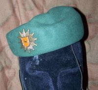 BW POLICE WOMAN BERET LOWER SAXONY ORIGINAL
