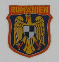 ROMANIAN SS PATCH VOLUNTEERS SECOND PATTERN REPRO