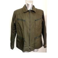 ITALIAN AIR FORCE OLIVE JACKET WITH LINER ORIGINAL
