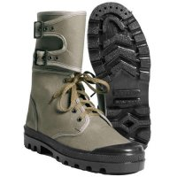 FRENCH BOOTS WEBBING OLIVE WITH LEGGINGS