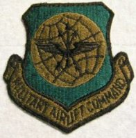 US PATCH MILITARY AIRLIFT COMMAND