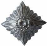 WH / SS SILVER STAR FOR SHOULDER BOARD REPRO